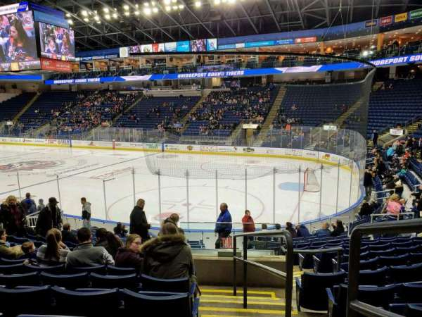 Webster Bank Arena, section: 117, row: L, seat: 1