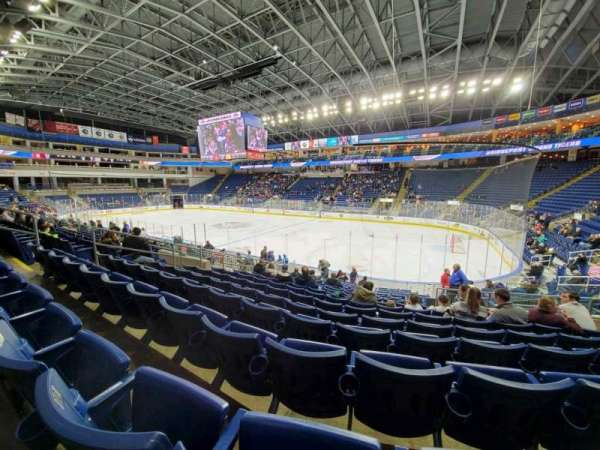 Webster Bank Arena, section: 117, row: L, seat: 9