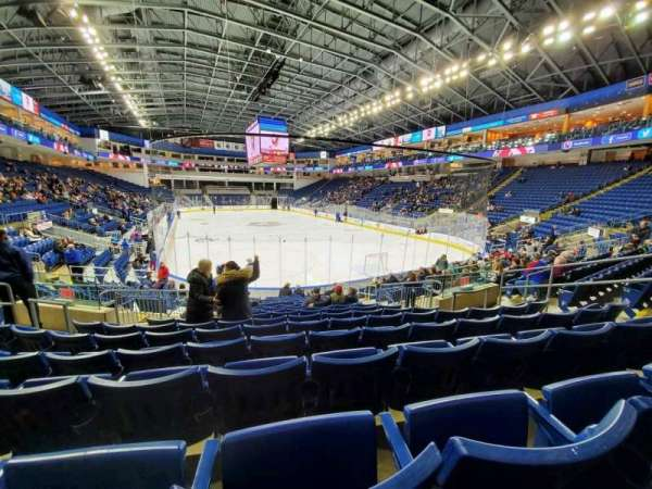 Webster Bank Arena, section: 119, row: K, seat: 10