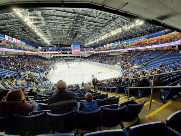 Webster Bank Arena, section: 119, row: S, seat: 4