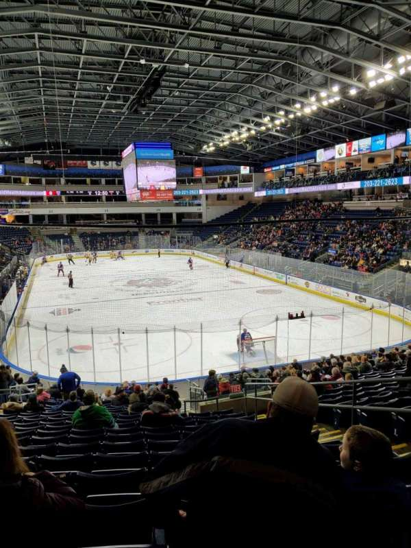 Webster Bank Arena, section: 119, row: S, seat: 5