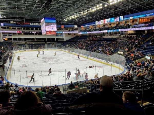 Webster Bank Arena, section: 119, row: S, seat: 6