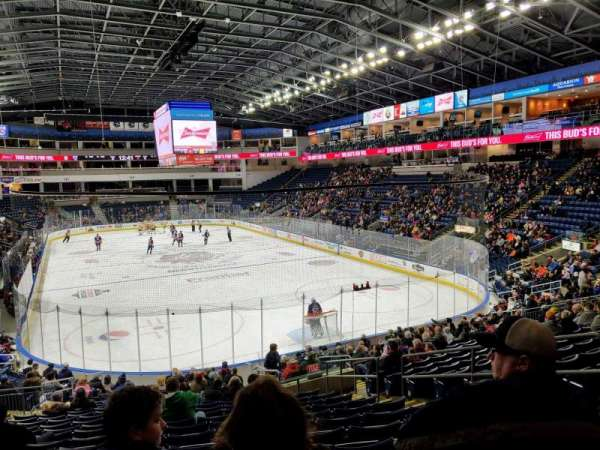 Webster Bank Arena, section: 119, row: S, seat: 7