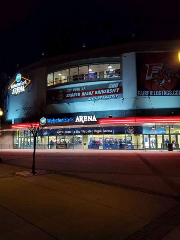 Webster Bank Arena, section: EXTERIOR
