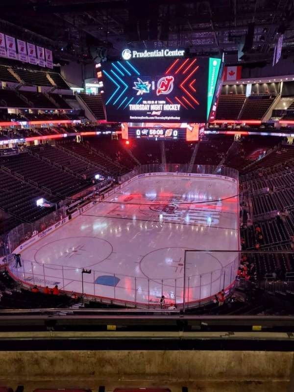 Prudential Center, section: 121, row: 3, seat: 1