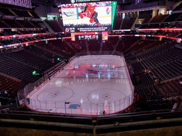 Prudential Center, section: 121, row: 3, seat: 7