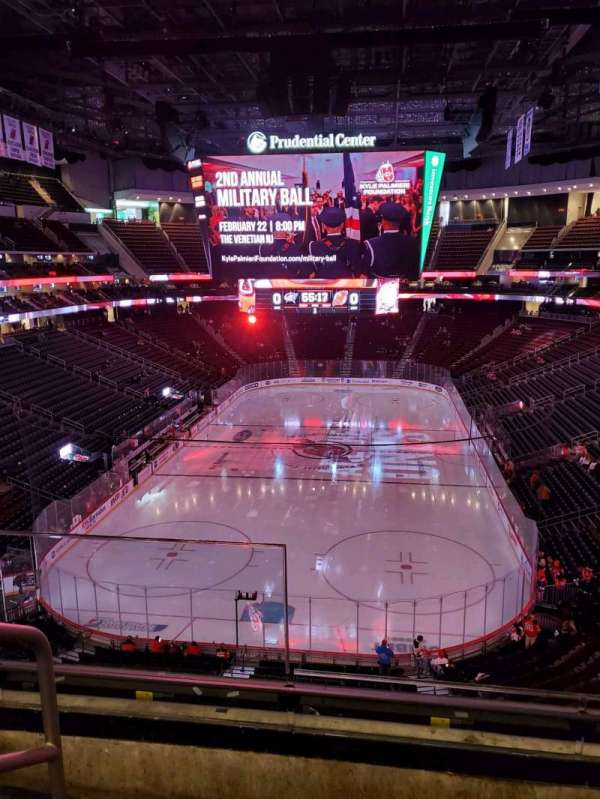Prudential Center, section: 121, row: 3, seat: 13