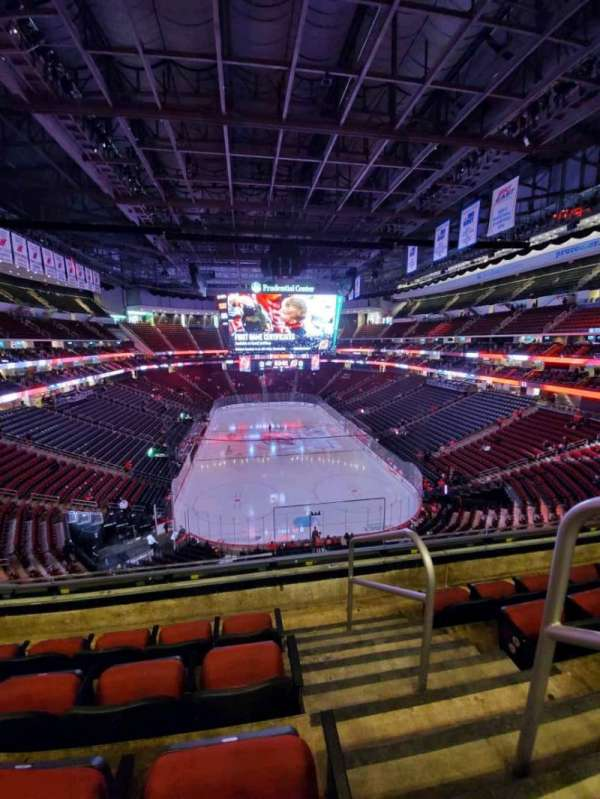 Prudential Center, section: 119, row: 4, seat: 1
