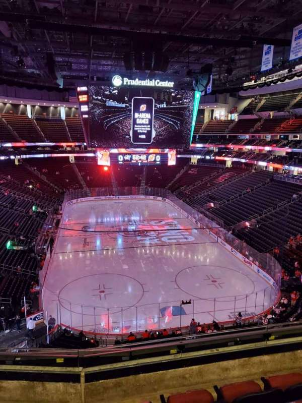 Prudential Center, section: 119, row: 4, seat: 7