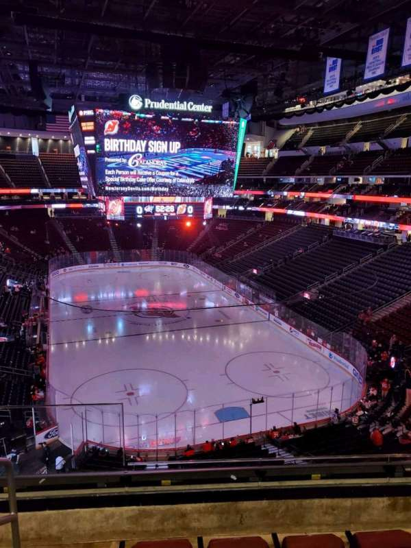 Prudential Center, section: 119, row: 4, seat: 14