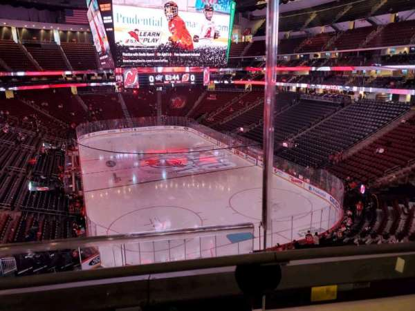 Prudential Center, section: 118, row: 1, seat: 1