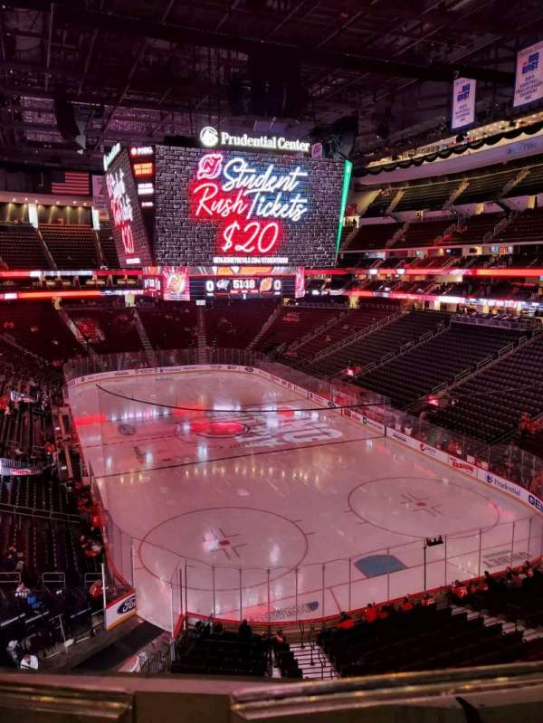 Prudential Center, section: 118, row: 1, seat: 7