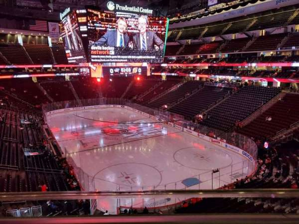 Prudential Center, section: 118, row: 1, seat: 13