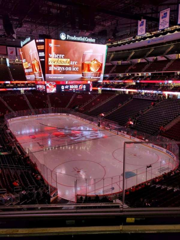 Prudential Center, section: 117, row: 2, seat: 1