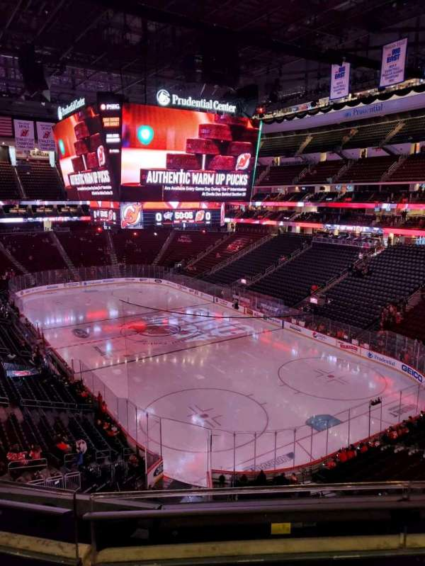 Prudential Center, section: 117, row: 2, seat: 6