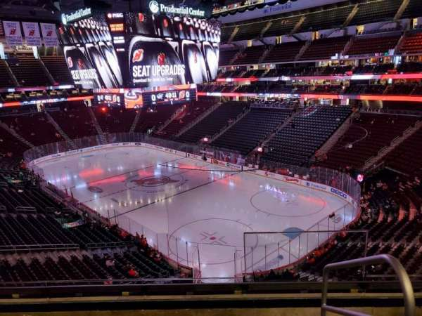 Prudential Center, section: 116, row: 4, seat: 1