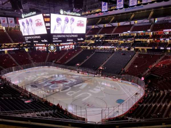 Prudential Center, section: 116, row: 4, seat: 8