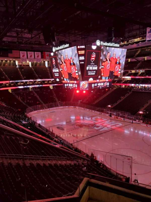 Prudential Center, section: 116, row: 4, seat: 14
