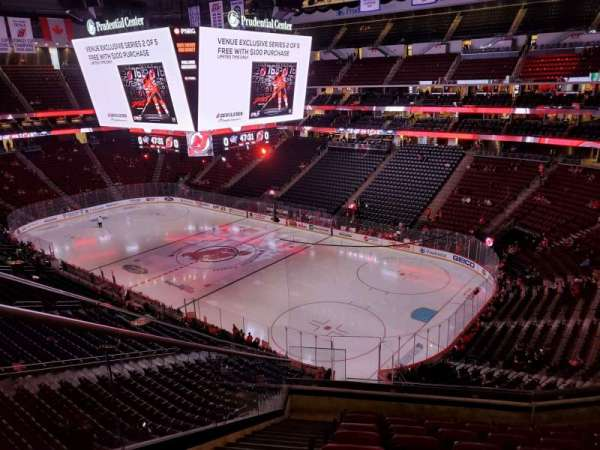 Prudential Center, section: 116, row: 8, seat: 15