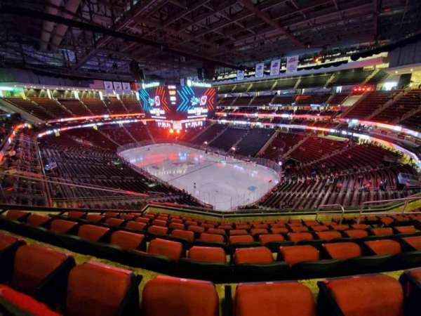 Prudential Center, section: 116, row: 8, seat: 8