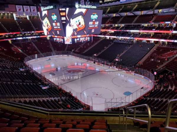 Prudential Center, section: 116, row: 8, seat: 1