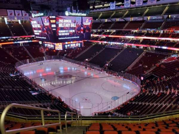Prudential Center, section: 117, row: 10, seat: 17