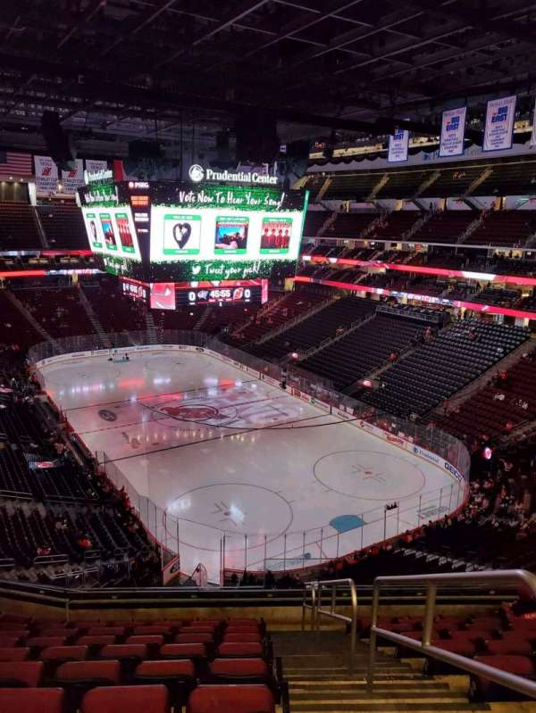 Prudential Center, section: 117, row: 10, seat: 1