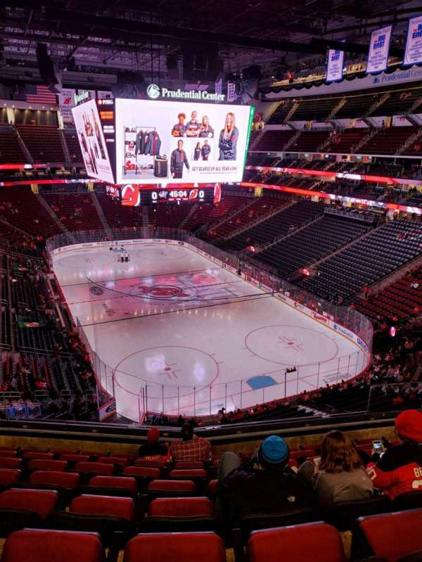 Prudential Center, section: 118, row: 8, seat: 8