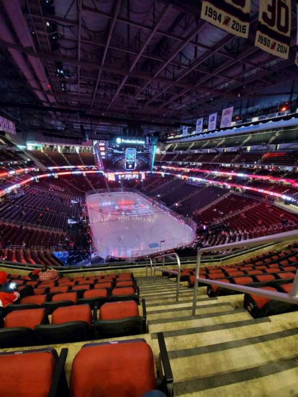 Prudential Center, section: 118, row: 8, seat: 1