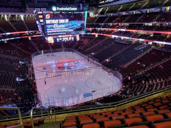 Prudential Center, section: 119, row: 9, seat: 16