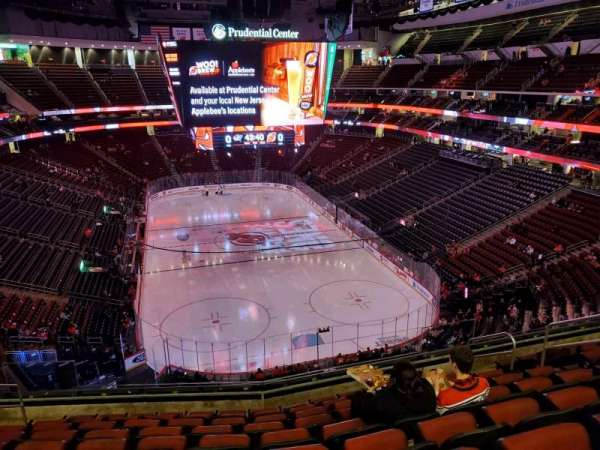 Prudential Center, section: 119, row: 9, seat: 9