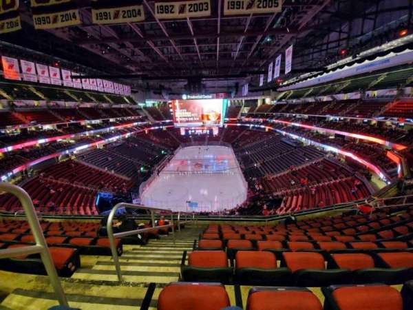 Prudential Center, section: 121, row: 10, seat: 17