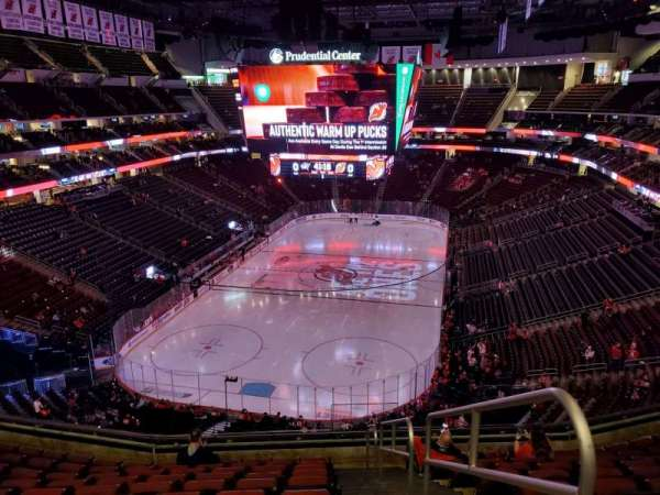 Prudential Center, section: 121, row: 10, seat: 1