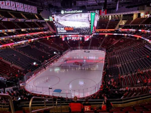 Prudential Center, section: 122, row: 8, seat: 15