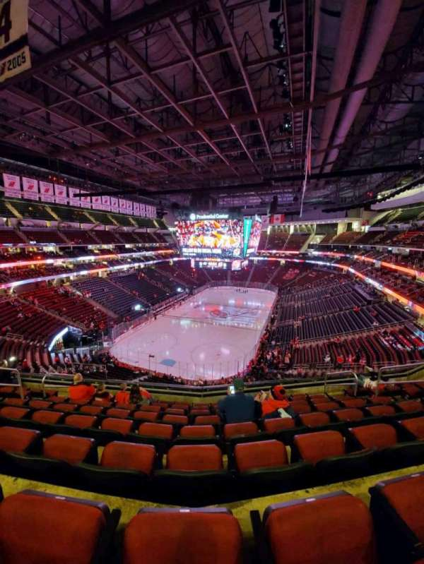 Prudential Center, section: 122, row: 8, seat: 8