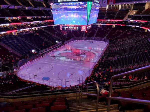 Prudential Center, section: 122, row: 8, seat: 1