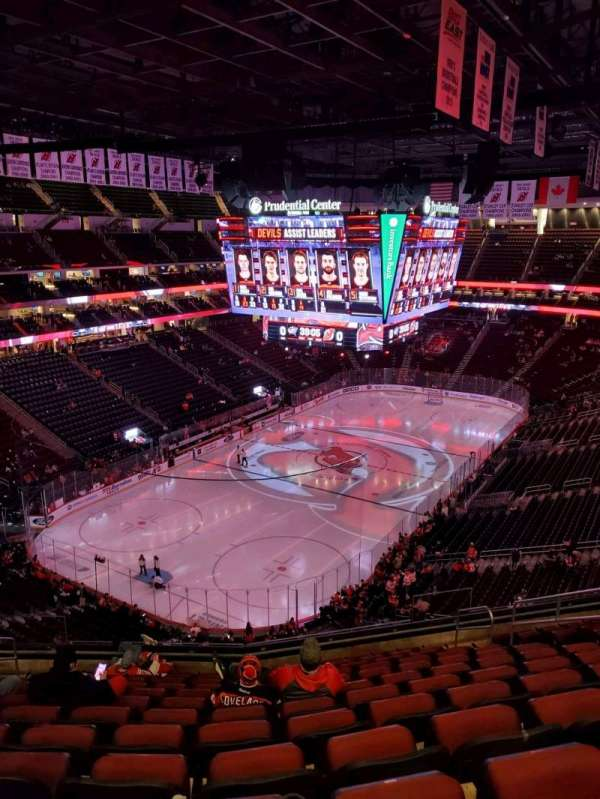 Prudential Center, section: 123, row: 12, seat: 9