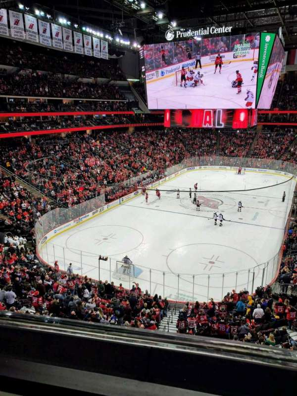 Prudential Center, section: 122, row: 1, seat: 10