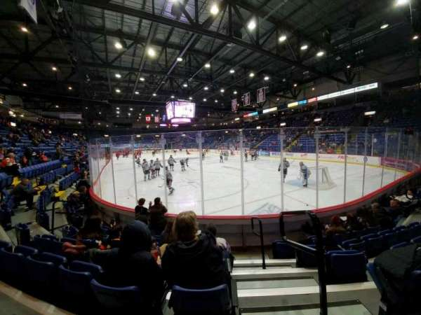 Santander Arena, section: 113, row: F, seat: 1
