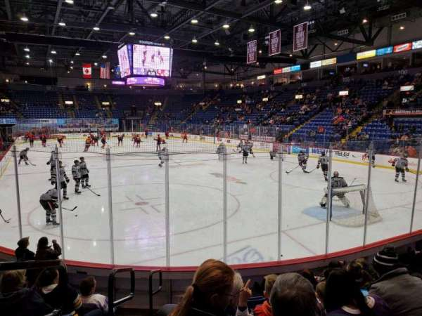 Santander Arena, section: 112, row: H, seat: 15