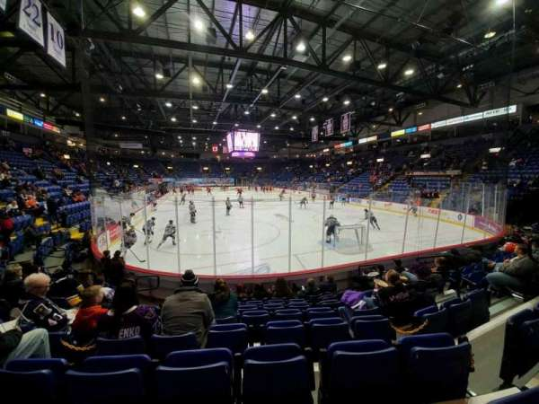 Santander Arena, section: 112, row: H, seat: 9