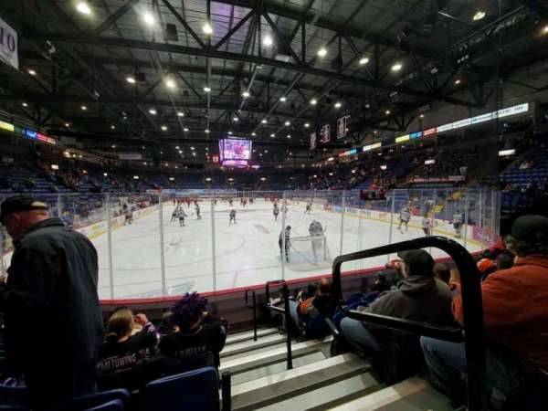 Santander Arena, section: 112, row: G, seat: 1