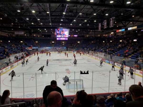 Santander Arena, section: 111, row: N, seat: 13
