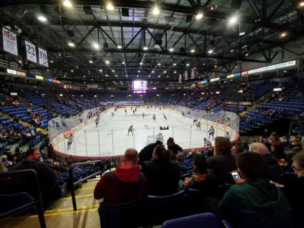 Santander Arena, section: 111, row: N, seat: 13