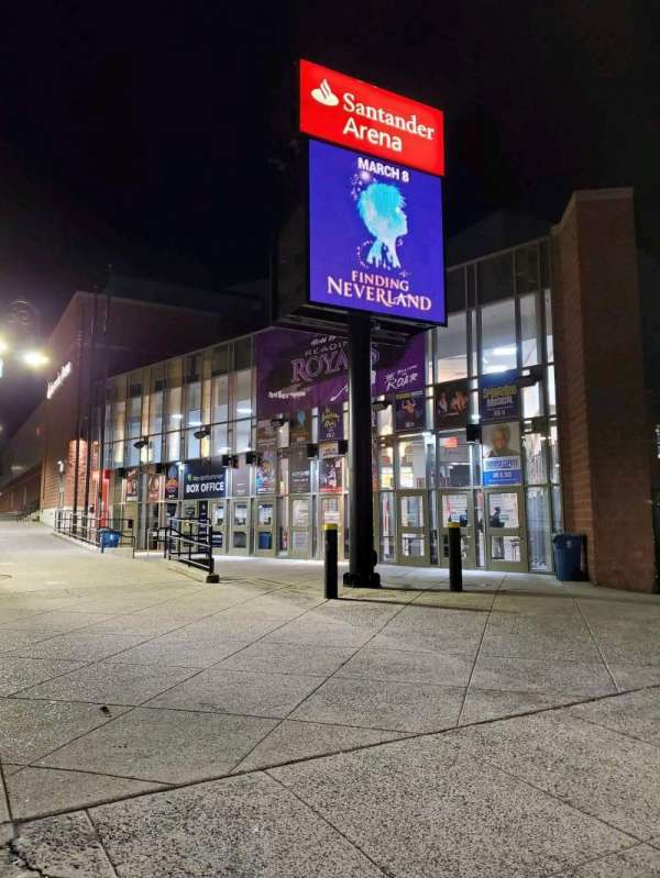 Santander Arena, section: EXTERIOR