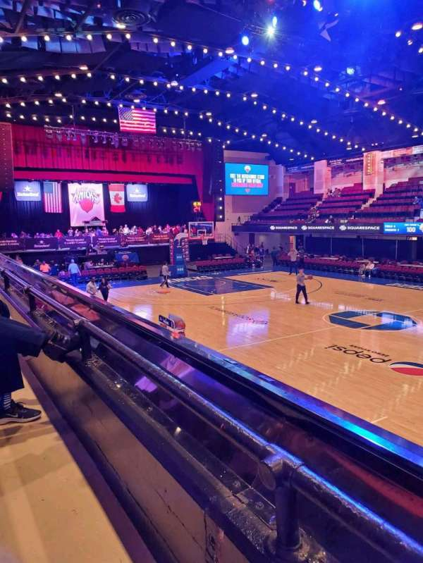 Westchester County Center, section: 50LFT, row: A, seat: 50