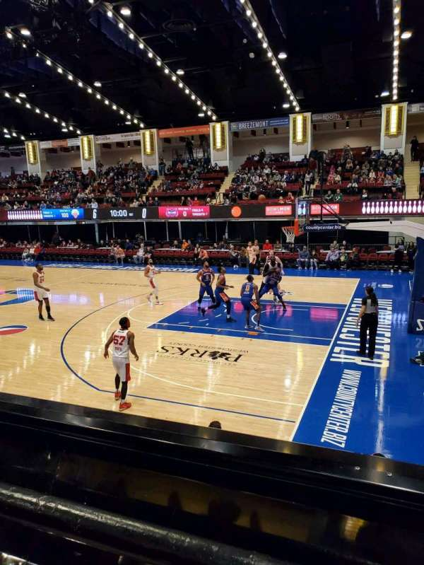 Westchester County Center, section: 50LFT, row: A, seat: 59