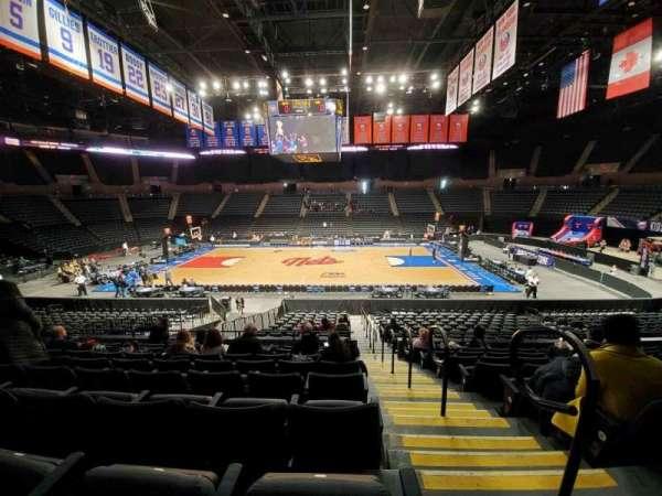 Nassau Veterans Memorial Coliseum, section: 103, row: 8, seat: 1