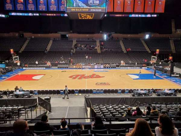 Nassau Veterans Memorial Coliseum, section: 103, row: 6, seat: 8