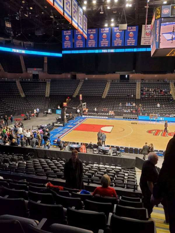 Nassau Veterans Memorial Coliseum, section: 104, row: 7, seat: 1